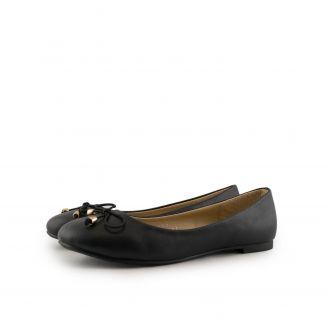 888-2 Angela Shoes ΜΑΥΡΟ